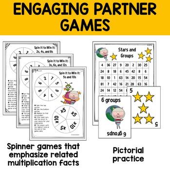 Multiplication: Workstation Games