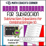 Common Core: Think-Addition for Subtraction (within 10)
