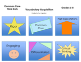 Common Core Think Dots for Vocabulary Acquisition - Grades 6, 7, 8