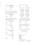 Common Core Third Grade Math Assessment