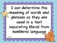 """Common Core Third Grade OCEAN THEME """"I Can"""" Statement Learning Goals"""