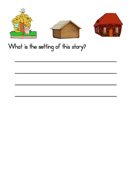Common Core Three Little Pigs Book Study - 7 DIFFERENT STORY VERSIONS