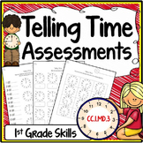 Telling Time Assessments