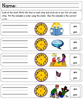 Common Core Time is Ticking Away 2nd grade!