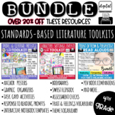 4th Grade Reading Literature Common Core BUNDLE  RL4.2, RL4.3 & RL4.6