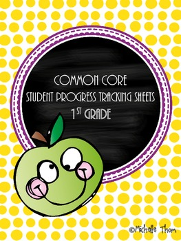Common Core Tracking Sheets for Mastery {1st Grade}