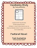 Common Core Tuck Everlasting Vocabulary Study