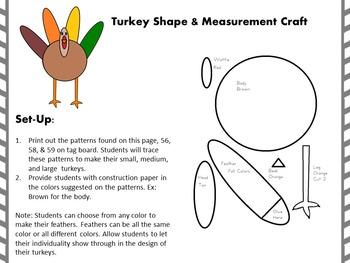 Common Core Turkey Measurement & Data