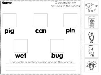 Common Core: Turkey Rhymes and CVC Words!