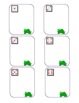 Common Core: Turtle Syllable Dice Game