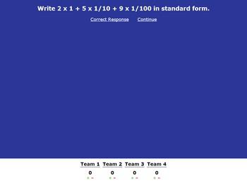 Common Core Unit 2 Math Review Decimals