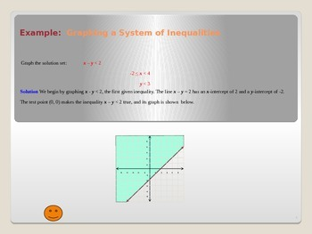 Common Core Algebra 1 Unit 2.2 Graphing systems of inequalities