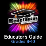 Common Core Unit Guide for The Benefactor grades 8-10