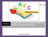 Common Core Unit & Lesson Planners Reader's and Writer's Workshop