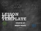 Common Core Unit Lesson Planning Sheet