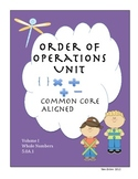 Common Core Unit Order of Operations 5.OA.1
