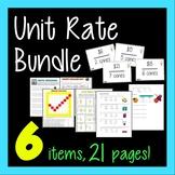 Unit Rate Bundle - 6-in-1 - Using Unit Rates