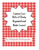 Common Core Units of Study Kindergarten Binders