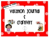 Common Core Vacation Writing Craftivity