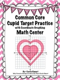 Valentine's Day Math Center- Coordinate Graphing  (Common Core)