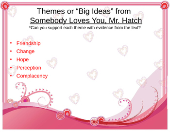Common Core Valentine's Close Reading Lesson--Somebody Loves You, Mr. Hatch