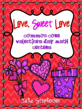 Common Core Valentine's Day Math Activities