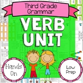 Verb Unit - Identify, Tense, Linking & Helping Verbs, Subject and Verb Agreement