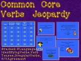 Common Core Verbs TV Trivia Game-Grades 2-5-Fun Review!