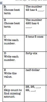 Common Core Video Game Math Topic 1 Numeration