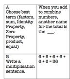 Common Core Video Game Math Topic 5 Multiplication Facts