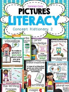 Common Core Vocabulary Concept Kidtionary Part 2-ELA