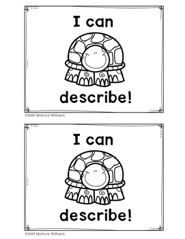 Academic Vocabulary DESCRIBE