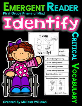 Academic Vocabulary IDENTIFY