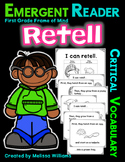Academic Vocabulary RETELL life cycle eggs