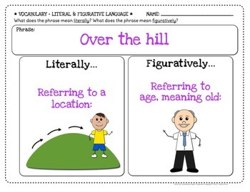 Word Up Vocabulary Graphic Organizers {Grades 2 - 5}