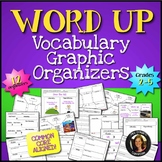 Word Up Vocabulary Graphic Organizers {Grades 2 - 5}