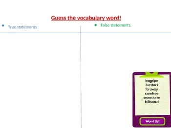 Common Core Vocabulary Strategies for 3rd through 5th grades
