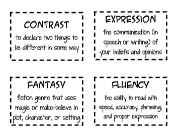 Common Core Vocabulary - The Wild West