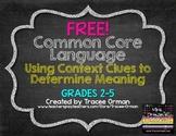 Free Vocabulary Organizer: Using Context Clues {Grades 2-5}