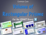 Volume of Rectangular Prisms for the SMART Board
