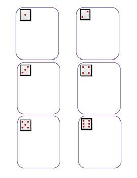 Common Core: Vowel Team Dice Game