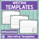 Common Core WRITING TEMPLATES WITH BUILT IN RUBRICS