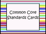 Common Core - We Can Objectives