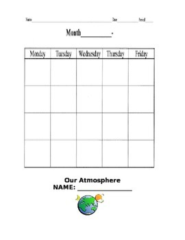 Common Core Weather Science Unit for Second Grade