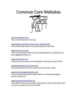 Common Core Websites