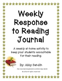 Common Core - Weekly Response to Reading Sheet with Questions