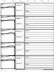 Common Core~ Weekly Vocabulary Tier 1, Tier2, Tier 3 Graphic Organizer