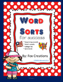 Open and Closed Word Sorts ~ Printable and Ready to Go!