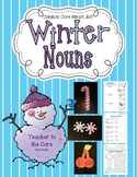 Common Core Winter Nouns: Smart Art Projects with Student Pages