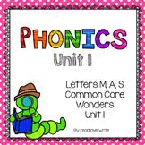 Common Core Wonders Unit 1 Phonics Packet